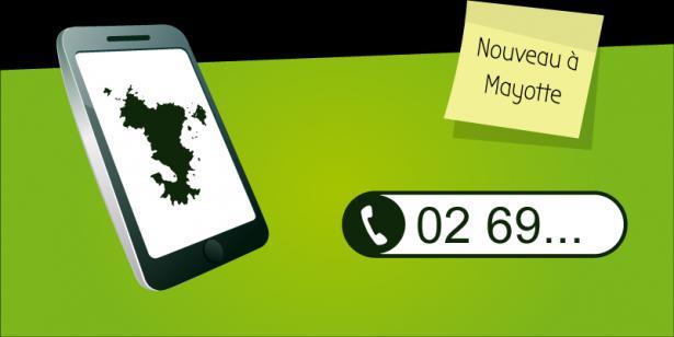 Nouveau : Numéros de téléphone maintenant disponible sur Mayotte