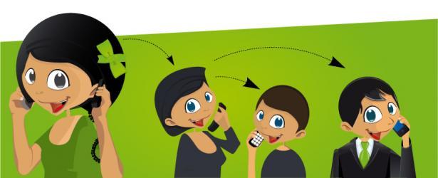 Nouveau : Transférez vos appels pendant une conversation téléphonique.