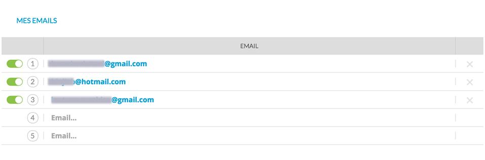 messages vocaux par email