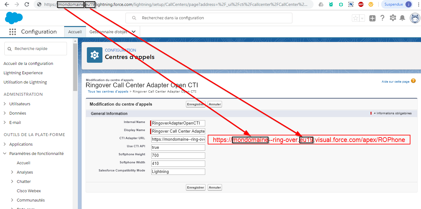 Integrating my calls in my Salesforce CRM | RingOver Help Centre