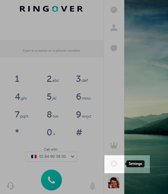 screenshot settings RingOver